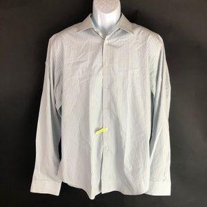 Clavin Klein Men's White Dress Shirt 17